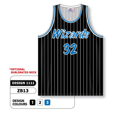 Custom Sublimated Basketball Jersey Design 1111