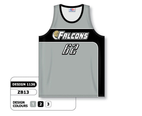 Custom Sublimated Basketball Jersey Design 1136