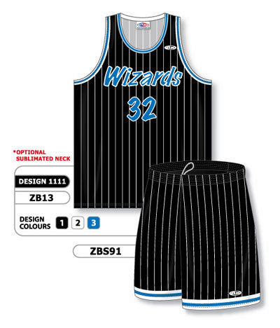 Custom Sublimated Matching Basketball Uniform Set Design 1111