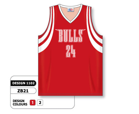 Custom Sublimated Basketball Jersey Design 1102