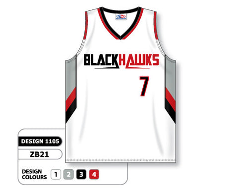 Custom Sublimated Basketball Jersey Design 1105