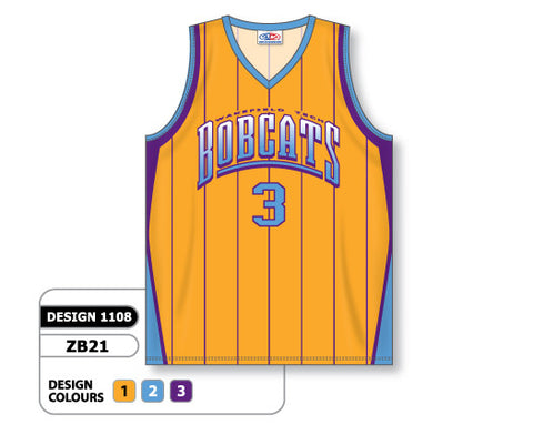 Custom Sublimated Basketball Jersey Design 1108