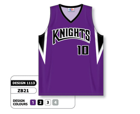 Custom Sublimated Basketball Jersey Design 1113