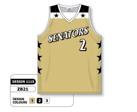 Custom Sublimated Basketball Jersey Design 1115