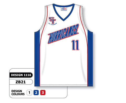Custom Sublimated Basketball Jersey Design 1116
