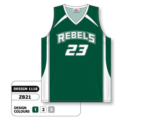 Custom Sublimated Basketball Jersey Design 1118