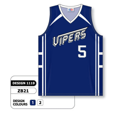 Custom Sublimated Basketball Jersey Design 1119