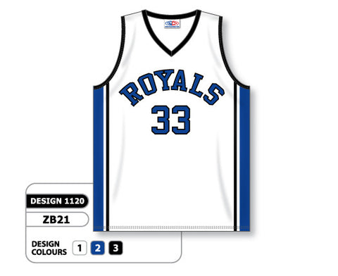 Custom Sublimated Basketball Jersey Design 1120