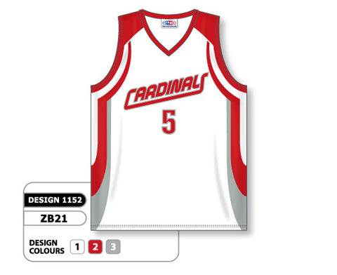 Custom Sublimated Basketball Jersey Design 1152