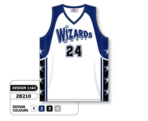 Custom Sublimated Basketball Jersey Design 1163