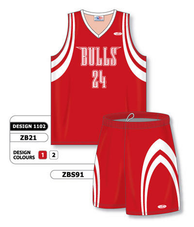 Custom Sublimated Matching Basketball Uniform Set Design 1102
