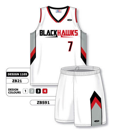 Custom Sublimated Matching Basketball Uniform Set Design 1105