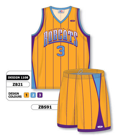 Custom Sublimated Matching Basketball Uniform Set Design 1108