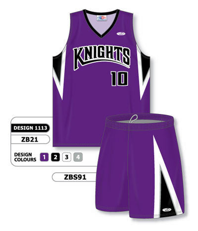 Custom Sublimated Matching Basketball Uniform Set Design 1113