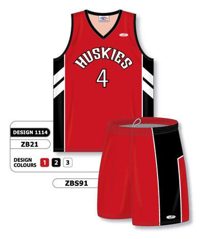 Custom Sublimated Matching Basketball Uniform Set Design 1114