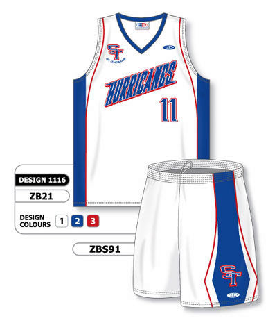 Custom Sublimated Matching Basketball Uniform Set Design 1116