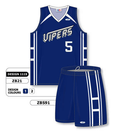 Custom Sublimated Matching Basketball Uniform Set Design 1119