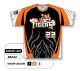 ZSB22-1207 Custom Sublimated Crew Neck Softball Jersey