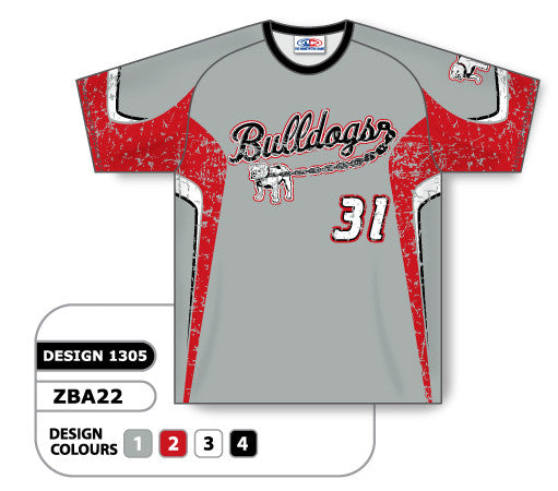 Custom Sublimated Crew Neck Baseball Jersey Design 1305 13f132a94