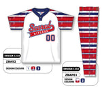 ZBA52S-1214 Custom Sublimated Matching Baseball Uniform Set