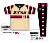 ZBA52S-1215 Custom Sublimated Matching Baseball Uniform Set
