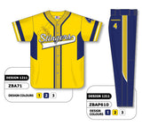 ZBA71S-1211 Custom Sublimated Matching Baseball Uniform Set