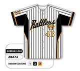 Custom Sublimated Full Button Baseball Jersey Design 1210