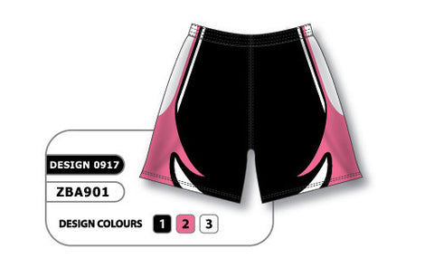 ZBA901-0917 Custom Sublimated Ladies Softball Short