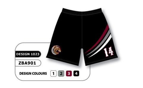 ZBA901-1023 Custom Sublimated Ladies Softball Short