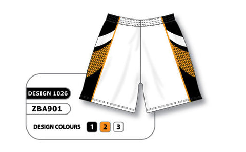 ZBA901-1026 Custom Sublimated Ladies Softball Short