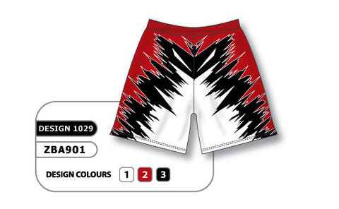 ZBA901-1029 Custom Sublimated Ladies Softball Short