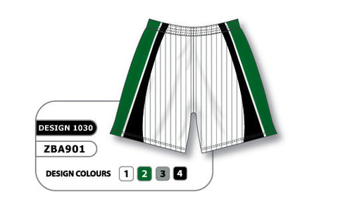 ZBA901-1030 Custom Sublimated Ladies Softball Short