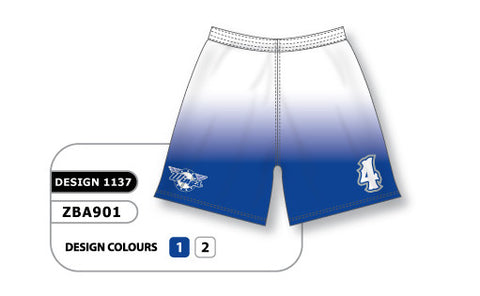 ZBA901-1137 Custom Sublimated Ladies Softball Short