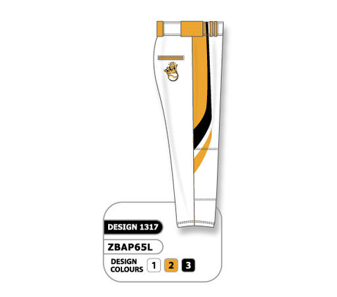 ZBAP65-1317 Custom Sublimated Ladies Softball Pant