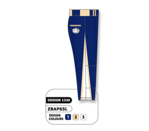ZBAP65-1320 Custom Sublimated Ladies Softball Pant