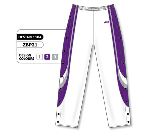 Custom Sublimated Basketball Warm Up Pant Design 1184