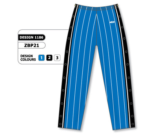 Custom Sublimated Basketball Warm Up Pant Design 1186