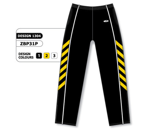 Custom Sublimated Basketball Warm Up Pant Design 1304