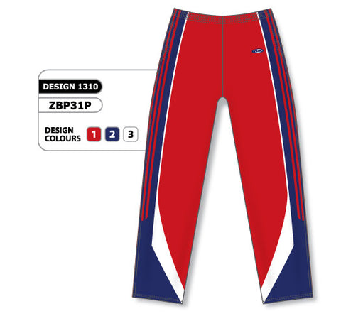 Custom Sublimated Basketball Warm Up Pant Design 1310