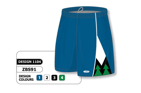 Custom Sublimated Basketball Short Design 1104