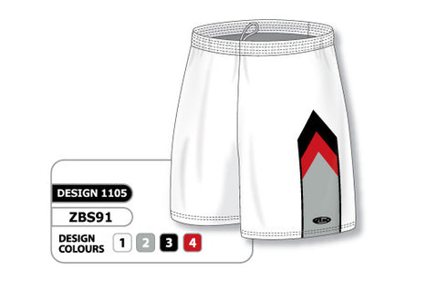 Custom Sublimated Basketball Short Design 1105