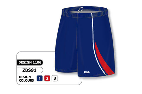 Custom Sublimated Basketball Short Design 1106