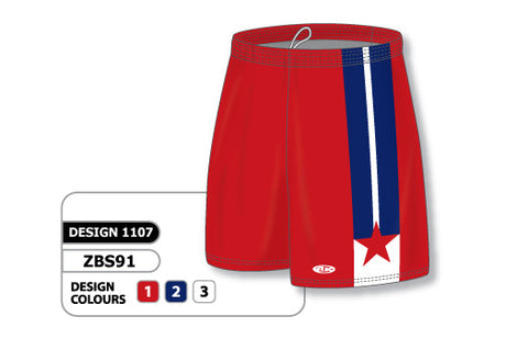Custom Sublimated Basketball Short Design 1107