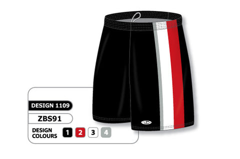Custom Sublimated Basketball Short Design 1109