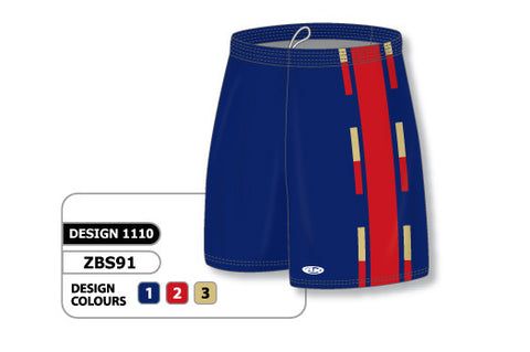 Custom Sublimated Basketball Short Design 1110