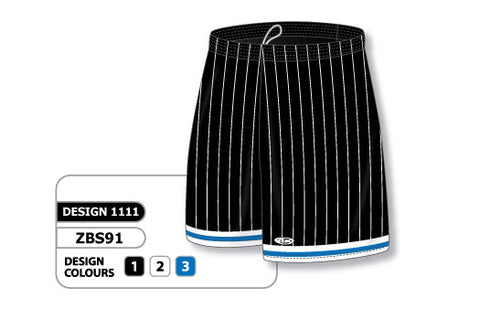 Custom Sublimated Basketball Short Design 1111