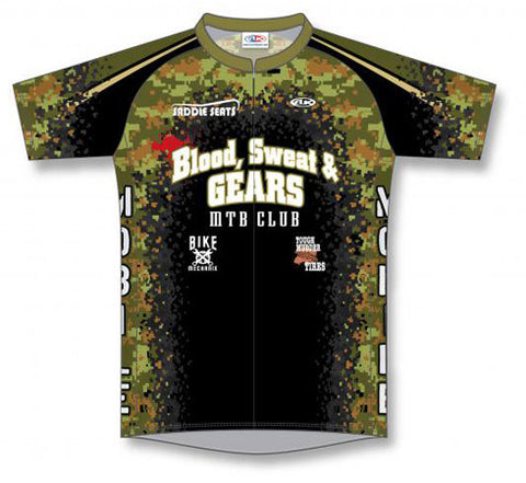 Custom Cycling Jersey Design 1302
