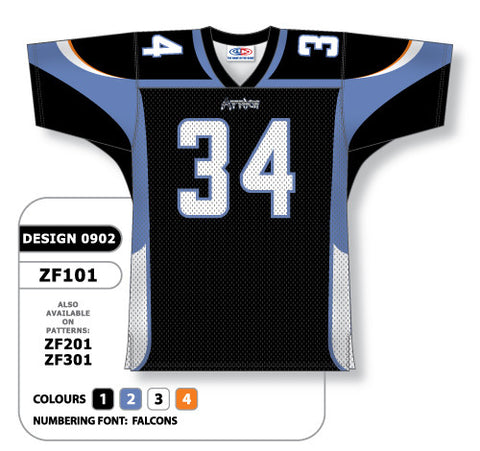 Custom Sublimated Football Jersey Design 0902