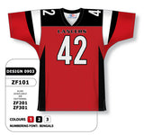 Custom Sublimated Football Jersey Design 0903