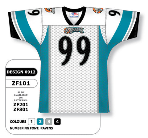 Custom Sublimated Football Jersey Design 0912
